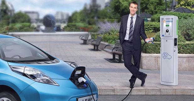 Nissan choisit les bornes de recharge à domicile de Sodetrel