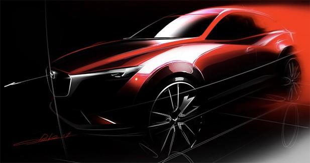 Première image du nouveau Mazda CX-3
