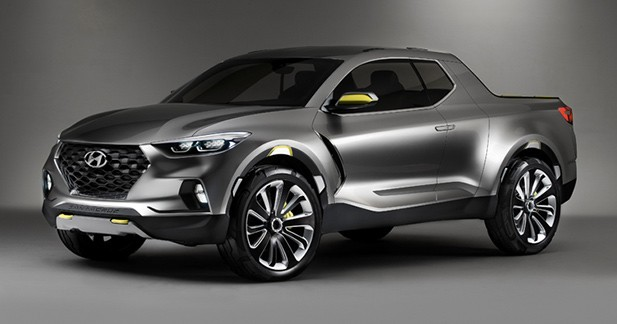 Detroit 2015 : Hyundai Santa Cruz Crossover Truck Concept