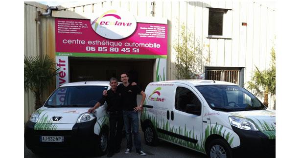 Ecolave lance son premier centre esthétique automobile