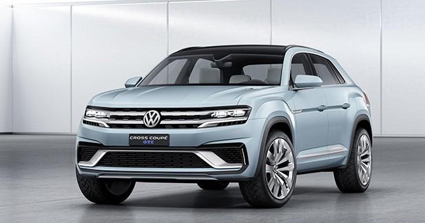 Detroit 2015 : Volkswagen Cross Coupé GTE, l'hybride aux portes de la série