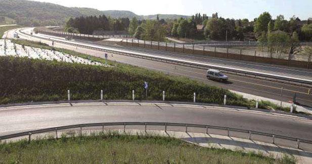 Ouverture de l'autoroute A714