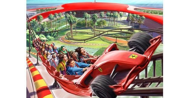 Ouverture de Ferrari World à Abu Dhabi