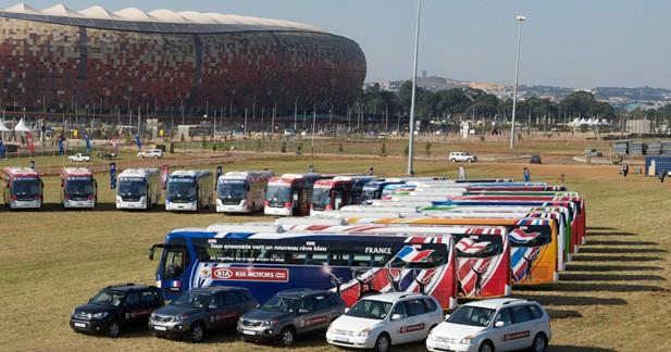 Kia livre 200 véhicules pour la Coupe du Monde de football