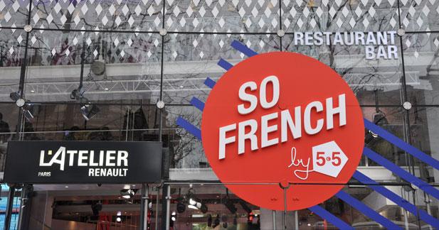 Visite à l'exposition So French by 5.5 à l'Atelier Renault