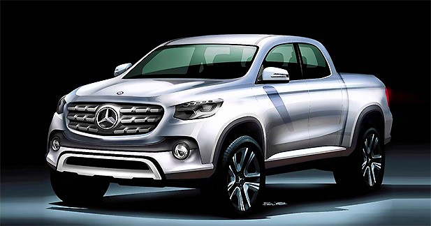 Mercedes compte développer un pick-up premium dans les années à venir
