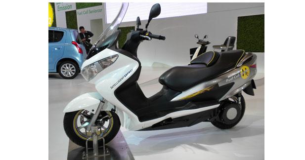Un scooter Suzuki à hydrogène obtient l'homologation pour l'Europe