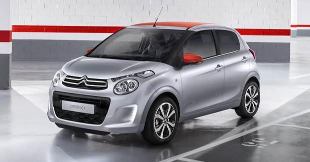 Citroën C1 : tarifs serrés et séries limitées