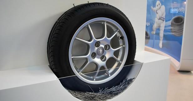 Bientôt des pneus increvables qui s'auto-réparent