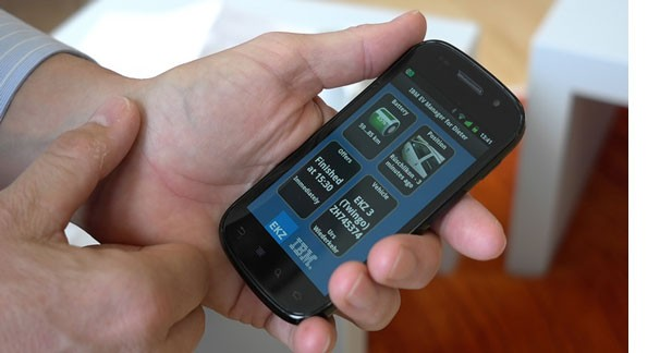 IBM facilite la recharge des véhicules électriques par smartphone
