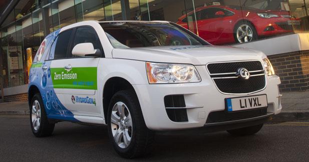 Opel soutient l'hydrogène en Grande-Bretagne