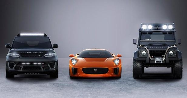 James Bond – Spectre : Jaguar confirme la présence de la C-X75