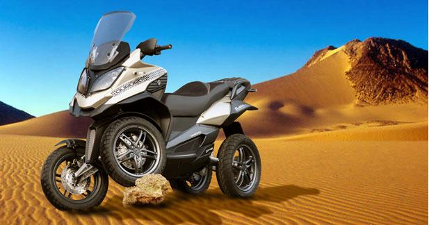 quadro parkour 350 d le scooter 4 roues. Black Bedroom Furniture Sets. Home Design Ideas