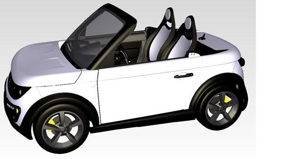 La Tazzari Zéro en version roadster : encore plus exclusive