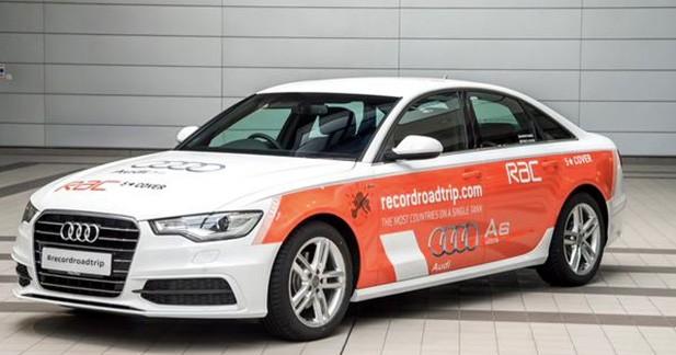 Audi va traverser l'Europe avec un seul plein