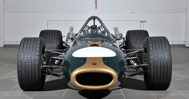 La Brabham F1 victorieuse à Monaco en 1967 est à vendre