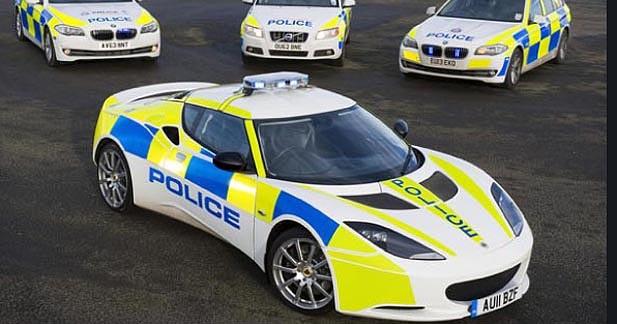 Une Lotus Evora S pour la police anglaise
