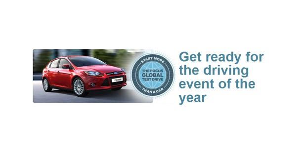 Ford lance un concours Facebook autour de la Focus