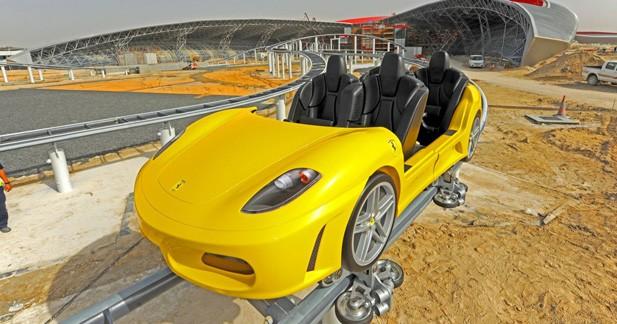 La Ferrari 430 Spider joue aux montagnes russes