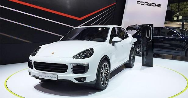 Mondial Auto 2014 : Porsche Cayenne S E-Hybrid, l'hybride branchée