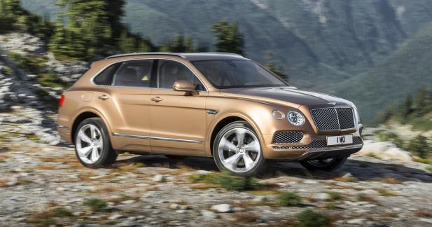 Bentley Bentayga: un turbo électrique pour la version Diesel