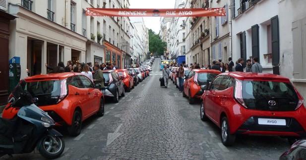 Visite de la Rue Aygo : Toyota en mode séduction (vidéo)