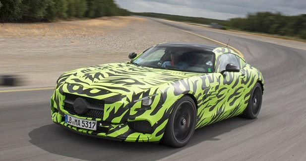 Mercedes présentera son AMG-GT le 9 septembre prochain