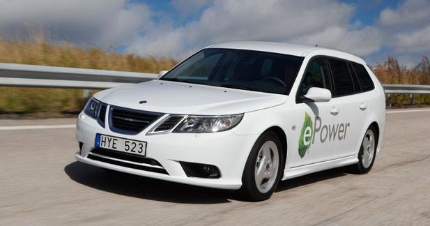 Une Saab ePower au Mondial