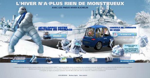Jouez au car curling avec Michelin