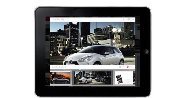 Citroën débarque sur l'iPad
