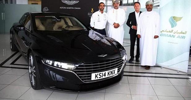 Aston Martin Lagonda : première photo sans camouflage