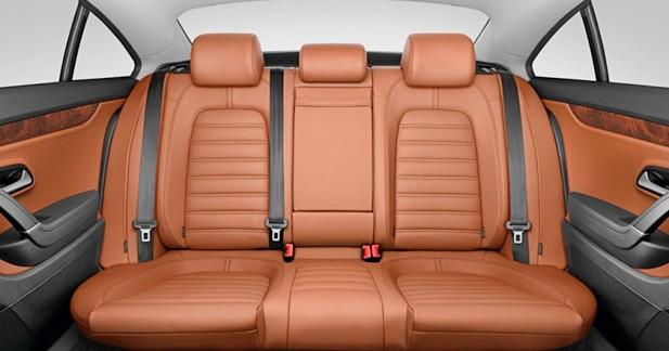 Volkswagen Passat CC : 5 places en option