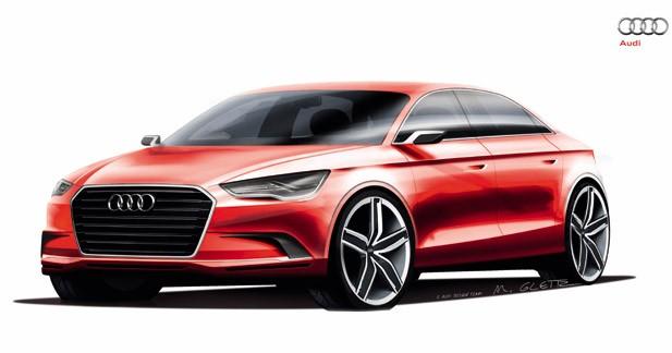 Audi A3 concept : la prochaine compacte Audi se dessine