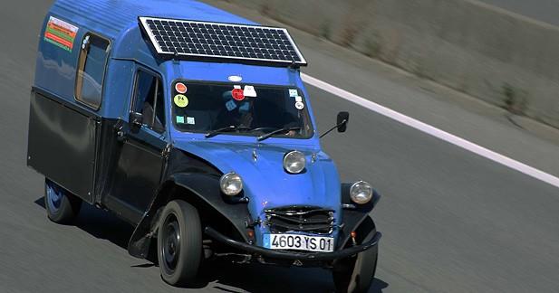Insolite : Citroën prépare sa réponse à la Renault Zoé...