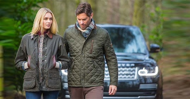 Land Rover s'habille en Barbour