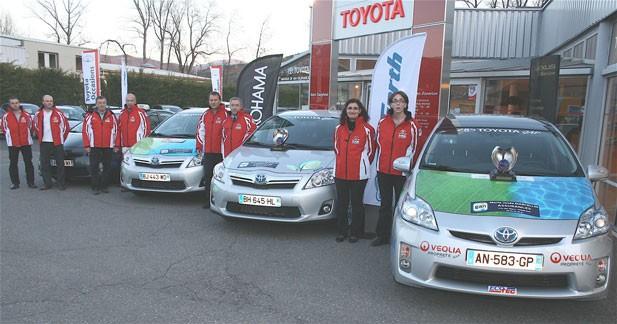L'Auris hybride remporte le rallye de Monte Carlo des énergies alternatives