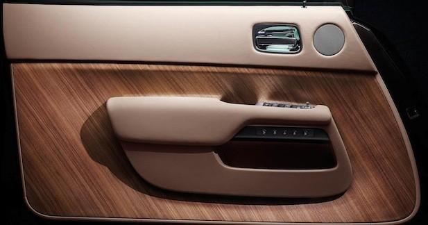 Rolls Royce dévoile... la contre-porte de la Wraith