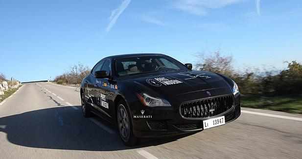 Maserati donne le top départ de son Paris-Modena