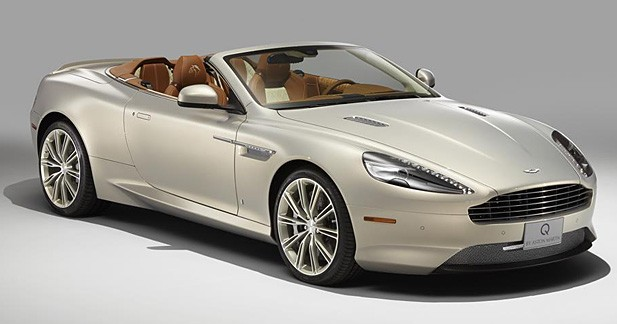 Aston Martin produit une DB9 Volante unique vendue aux enchères