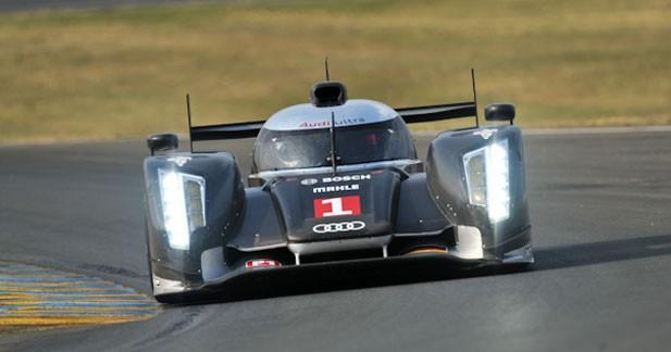 Les Audi devant les Peugeot au Mans