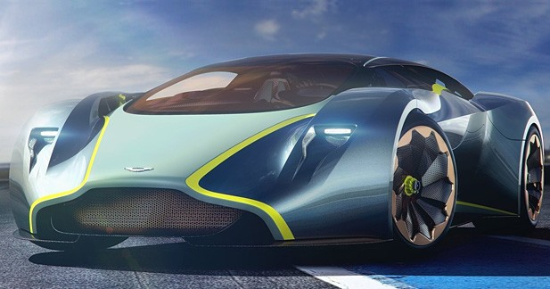 Le joyau virtuel d'Aston Martin dévoilé à Goodwood