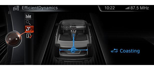 BMW améliore la fonction roue libre