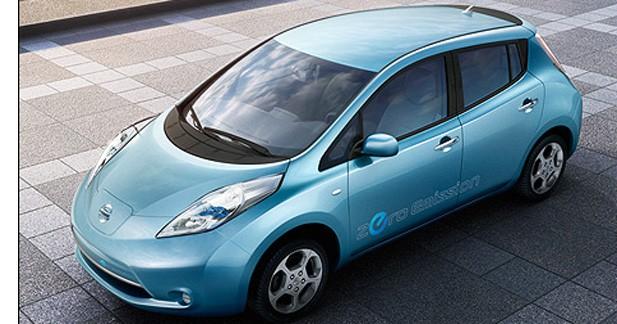 La Nissan Leaf élue Voiture de l'Année 2011