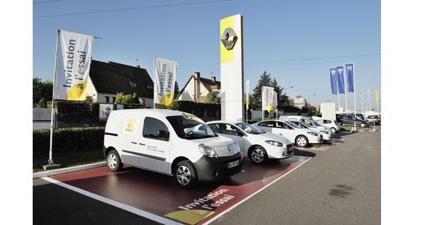 Démarrage du projet SAVE avec des VE Renault dans les Yvelines