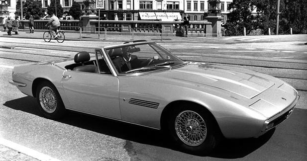 Hommage à Maserati au Fiat MotorVillage