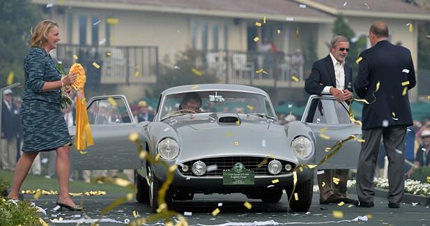 Pebble Beach : enfin une Ferrari primée