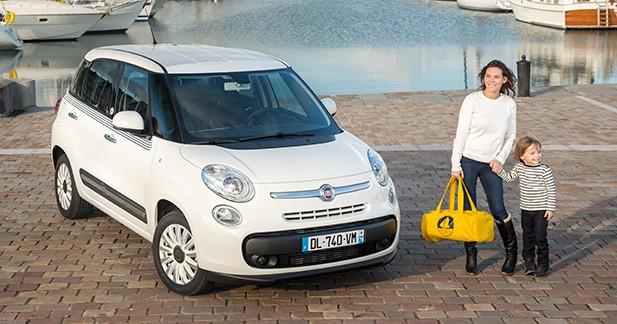 Une série limitée Petit Bateau pour la Fiat 500L