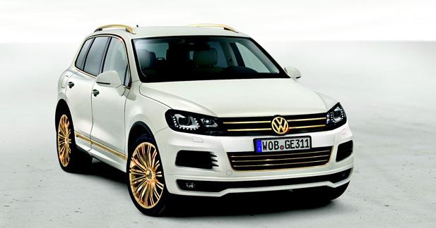 Le Touareg version gold au Qatar