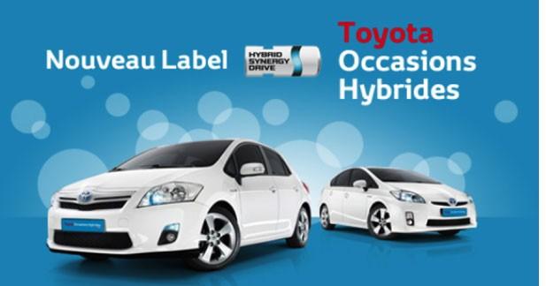 Un nouveau label pour les occasions hybrides chez Toyota