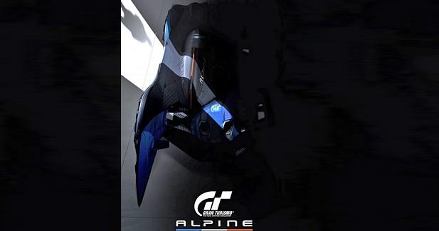 Une Alpine inédite dans Gran Turismo 6